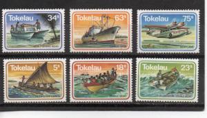 Tokelau 91-96 MNH