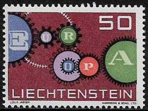 Liechtenstein #368 MNH Stamp - Europa