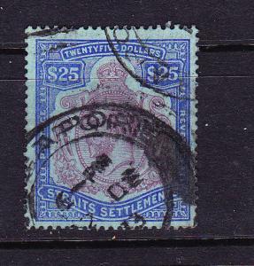 STRAITS SETTLEMENTS 1921-33  $25   KGV  FU  SG 240b