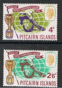 PITCAIRN ISLANDS 1966 WORLD CUP FOOTBALL
