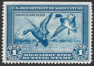 Doyle's_Stamps: Nice #RW1* NG Federal Duck Stamp of 1934      (WL9)