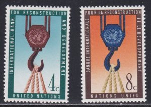 United nations - New York #  86-87, Block & Tackle, LH