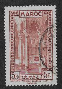 FRENCH MOROCCO SC# 145  VF/U    1933