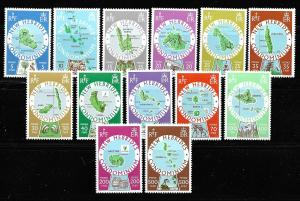 New Hebrides British 238-50 Various set MNH