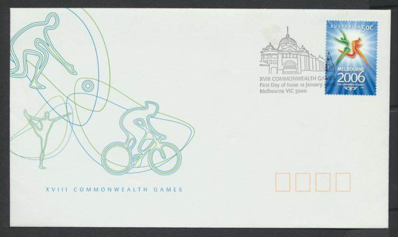 SG 2575  SC# 2453 Cover - Commonwealth Games  Melbourne 2006