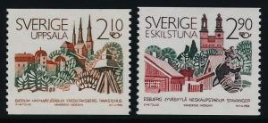 Sweden 1603-4 MNH Nordic Cooperation. Architecture