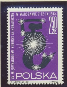 Poland Stamp Scott #1266, Mint Lightly Hinged - Free U.S. Shipping, Free Worl...