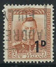 New Zealand SG 712 Surch 1d Used
