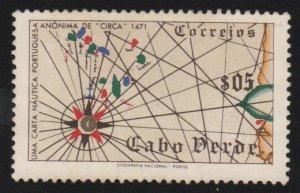 277 Portuguese navigation map
