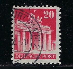 Germany AM Post Scott # 646, used