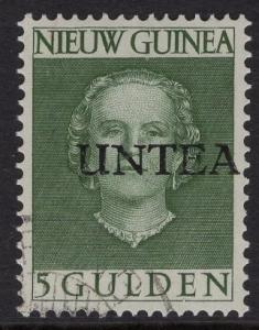 Netherlands West New Guinea UNTEA  #19 UN temporary authority 1962 cancelled 5g