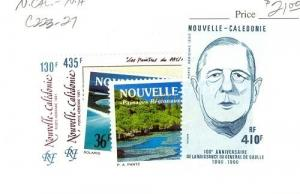 New Caledonia Scott C223-C227 NH