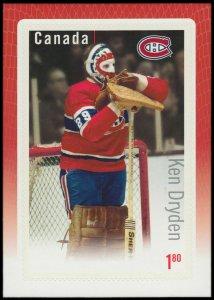 Canada Stamp #2873 - Ken Dryden (2015) $1.80
