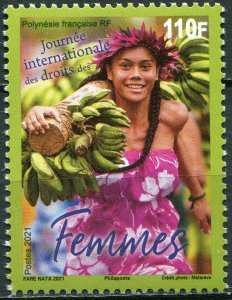 French Polynesia 2021. International Day of Women's Rights (MNH OG) Stamp