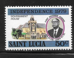 St Lucia Mint Never Hinged [4181]