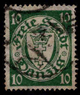 Danzig Scott 173 1924-1937 issue