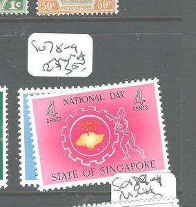SINGAPORE (P1804B) SG 78-9  MNH