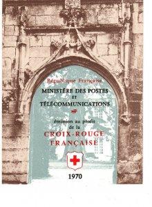 France #B443a Red Cross Booklet CV $12.50  (X1210)