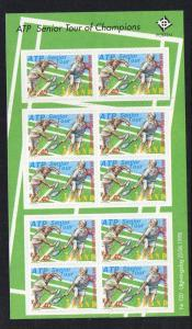 Aland Sc 147  1998 Seniors Tennis stamp sheet mint NH
