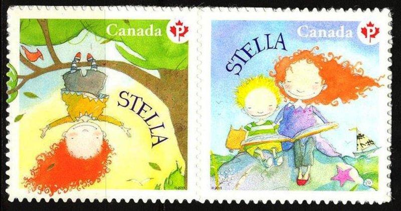 Canada 2013 Children's Books Stella set of 2 MNH**