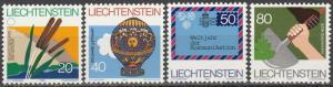 Liechtenstein #762-5  MNH  (S9039)