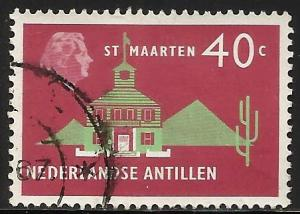 Netherlands Antilles 1958 Scott# 252 Used