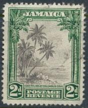 Jamaica SG 124 perf 12½  Used  SC# 119     see details