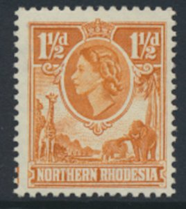 Northern Rhodesia  SG 63  SC# 63 MLH  see detail and scans