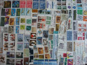 Canada double size 60 all different used complete se tenant pairs, blocks,strips