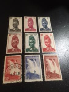 Cameroun sc 225-230,233,234,235 MHR+UHR