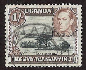 1938 King George VI Uganda Kenya Tanganyika 1Shilling (LL-98)