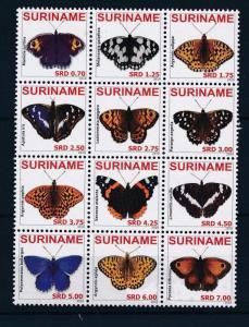 [SU1704] Suriname Surinam 2010 Butterflies MNH