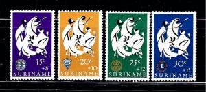 Surinam B123-26 MNH 1966 issues