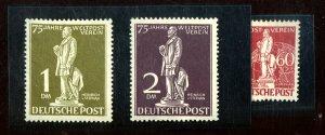 GERMANY #9N35-41 MINT FVF OG LH Cat $185