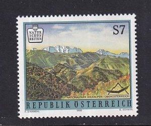 Austria   #1744   MNH  1998   scenery   7s  Kalkalpen Park