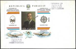 Paraguay Europa 1980 First Day Cover