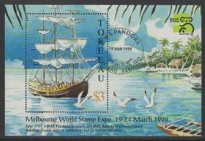 TOKELAU ISLANDS SGMS288 1999 AUSTRALIA 99 FINE USED