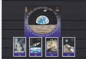 moonlanding mint never hinged stamps ref 16228