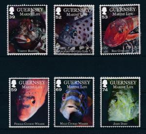 [29382] Guernsey 2013 Marine Life Fish MNH
