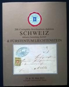 Auction catalogue SCHWEIZ Seebub Specialised Classic Switzerland Stamps Covers