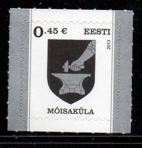 Estonia Sc 740 2013 Arms Moisakula stamp mint NH