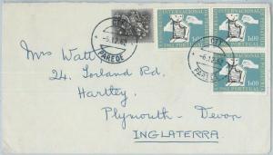75401 - PORTUGAL - Postal History - COVER 1962 - MEDICINE Pediatrics