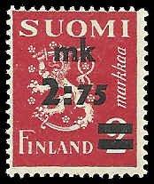 Finland - 222 - Unused - SCV-10.00