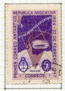 Argentine Republic 1947 Early Issue Fine Used 5c. 190152