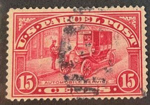 US Stamps #Q7 Used Parcel Post #Q7A135
