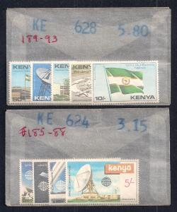 KENYA (21) All Diff Complete Sets ALL Mint Never Hinged