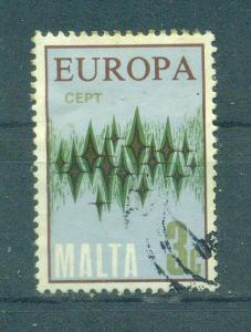 Malta sc# 451 used cat value $.25