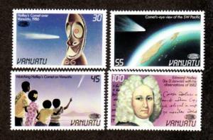 Vanuatu 422-425 Mint NH MNH Halley