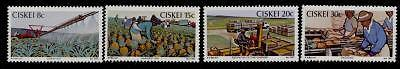 Ciskei 38-41 MNH Pineapple Industry, Agriculture