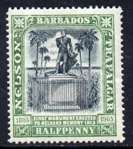 British Colonies & Territories 296854 Barbados 1937 Early Issue Fine Mint Hinged 2.5d